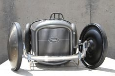 RM Auction's Monterey sale has this gorgeous 1932 Ford Salt Flat Racer Pedal Car up for grabs. Description from pinterest.com. I searched for this on bing.com/images
