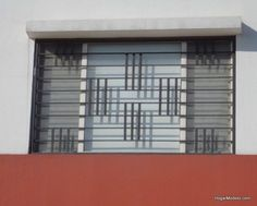 Grill Gate Design, Balcony Grill Design, Steel Gate Design, Front Gate Design, Iron Window Grill, Window Grill Design Modern, Window Design, Sliding Glass Windows, Big Windows