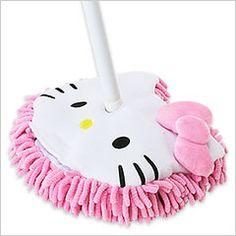 Hello Kitty Dust Mop - Hello Kitty Takes Over Hello Kitty Haus, Hello Kitty Kitchen, Hello Kitty Items, Hello Kitty Products, Hello Kitty Stuff, Hello Kitty Accessories, Kawaii, Hello Kitty Merchandise, Wonderful Day