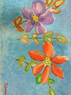 Flores#arte#pinturas