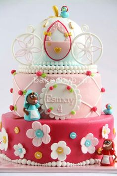 Cinderella cake assepoester taart Made by my good friend Bakedbyb.nl