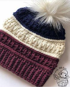 Knitting Projects, Crochet Projects, Knitting Patterns, Crochet Beanie Pattern, Knit Crochet, Crochet Hats, Ravelry Crochet, Motifs Beanie, Calamari