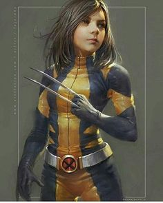 X23, Marvel Comics, Xmen, Logan