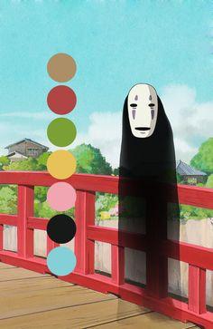 Palettes of Ghibli | Spirited away