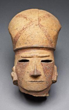 Head of a Warrior, 6th century, Japan, Kofun period (mid 3rd-6th century A.D.)