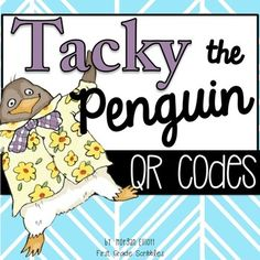 My students love listening to content rich, engaging read alouds. I am constantly trading out QR codes and read alouds through the weeks based on the holiday's coming up and our theme subjects! Tacky the Penguin is one of my favorite book characters. He is hilarious and very relatable!