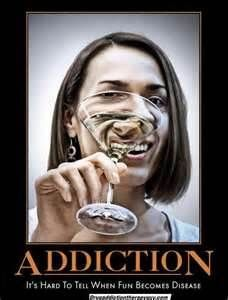 Alcohol addiction is a brain disease. The first few times, drinking might be voluntary, but it's hard to tell when choice becomes addiction.