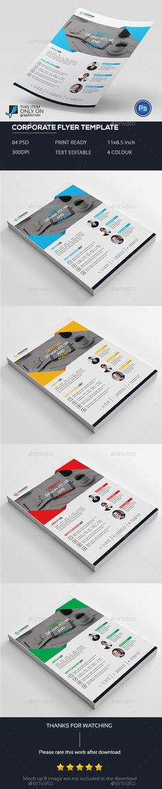 Business Flyer Template PSD | Flyer Templates | Pinterest | Flyer ...