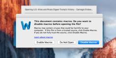 A new but old type of malware is now targeting macs and it's not pretty
