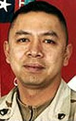 Army SFC Joselito O. Villanueva, 36, of Los Angeles, California. Died September 27, 2004, serving during Operation Iraqi Freedom. Assigned to 9th Engineer Battalion, 1st Infantry Division, Schweinfurt, Germany. Died of wounds sustained when hit by enemy sniper small-arms fire while at his observation post in Balad, Salad ad Din Province, Iraq.