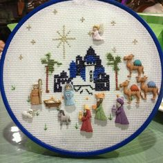 Pin en Nativity crafts for Christmas Christmas Sewing, Christmas Embroidery, Christmas Love, Christmas Cross, Nativity Crafts, Christmas Projects, Holiday Crafts, Nativity Sets, Christmas Nativity Scene