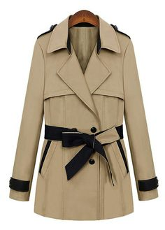 In the long section paragraph windbreaker jacket _Coats_CLOTHING_Voguec Shop Beige Trenchcoat, Girls Fall Outfits, Winter Outfits, Double Breasted Trench Coat, Pret A Porter Feminin, Windbreaker Jacket, Sweaters For Women, Clothes For Women, Fall Clothes