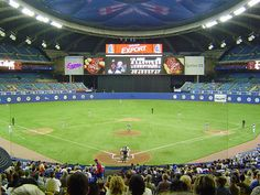 Go to center field @ Olympic Stadium to find next clue. Search stadium for tix. Baseball Park, Soccer Stadium, Baseball Field, Olympic Stadium Montreal, Mlb Stadiums, Amazing Race, Road Trippin, Major League, Family Travel
