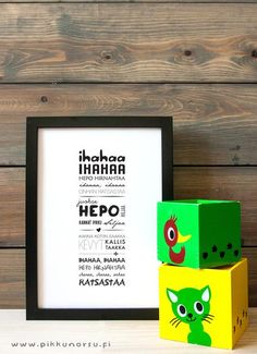 Children's song: Itsy bitsy spider climbed up the waterspout. Postcard posters from € Itsy Bitsy Spider, One Sided, Kids Songs, Hana, Wall Design, Envelope, Kids Room, Children, Frame