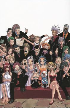 Fairy Tail guild members