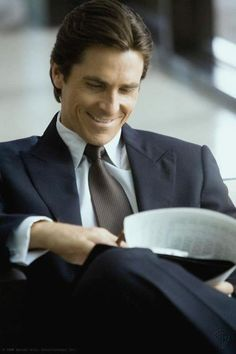 Christian Bale possible to be Christian Grey hehe