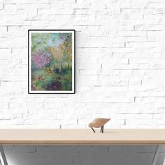 contemporary watercolour impressionist painting teal red yellow gold abstract wall art home decor special gift limited edition giclee print Watercolor Landscape, Watercolor Print, Abstract Landscape, Watercolor Paper, Painting Prints, Fine Art Prints, Green Copper, Impressionist Paintings, Abstract Wall Art