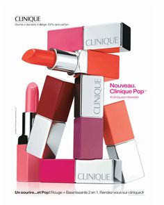 Clinique Cosmetic Advertising