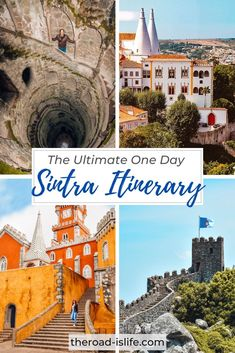 Plan your perfect day trip from Lisbon to Sintra with this complete one day itinerary. Discover the most beautiful fairy tale palaces, breathtaking viewpoints and absorb all the fascinating history of this UNESCO world heritage town! Day Trip from Lisbon | Sintra Day Trip | Day Trip to Sintra from Lisbon | One Day in Sintra Itinerary