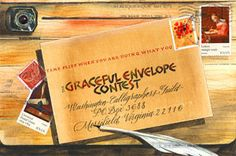 Gracefull Envelope Contest announces theme for next year in Fall, Deadline for year is in March