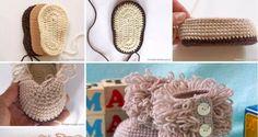 Štrikované topánočky pre najmenších (Návod)