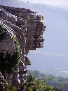 What appears to be the likeness of faces carved in the rock of the Peak of Prophet Yunus. 1300 m above sea level. Highest point in Slinfayh: resort town belonging to Latakia. 50 km out of Latakia City. The historical Citadel of Salah al-Din is only 13 km west of Slinfayh.