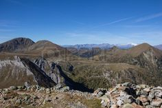 #View From #Top Of #Mount #Pfannock To Mount #Rosennock In The #Nocky #Mountains Of #Carinthia @123rf #123rf #nature #landscape #hiking #austria #summer #fall #outdoor #acitivity #stock #photo #portfolio #download #hirey #royaltyfree