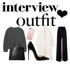 """🔥"" by www-krawolle on Polyvore featuring Mode, MaxMara, MANGO, Uniqlo, Christian Louboutin, SOREL, jobinterview und 60secondstyle"
