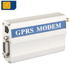 [$34.08] RS232 GPRS Modem / GSM Modem, Support SIM Card, GSM: 900 / 1800MHz Sign Random Delivery