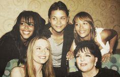 """shialablunt: """" Aaliyah, Kidada & Rashida Jones, Peggy Lipton & Liza Minnelli """""""