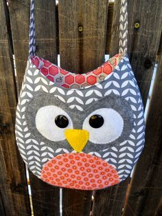 Just Another Hang Up: Crossbody Owl Purse Pattern & Tutorial