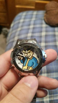 Post with 0 votes and 375 views. My Fallout Watch. Ain't it a kick in the head? Fallout Props, Fallout Game, Fallout New Vegas, Vault Dweller, Fall Out 4, Geek Games, Now And Forever, Funny Games