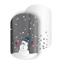 Snow Day Jamberry Nail Wraps *Get yours here https://melissaallain.jamberry.com/product/snow-day#.VeY8T5dfHao