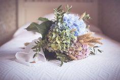 Una boda con hortensias en Asturias
