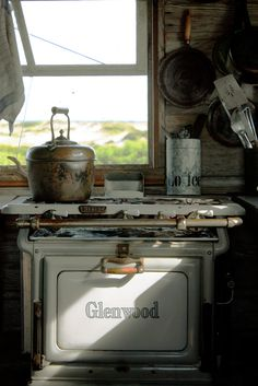 Dune shack kitchen