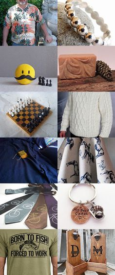 GIFTS FOR MEN - Team Treasury Game 200 - WEDNESDAY by Irene Tatakis Lippman on Etsy--Pinned with TreasuryPin.com