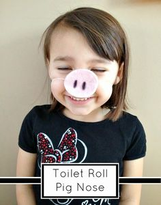 Tutus and Tea Parties: Cardboard Toilet Tube Craft | DIY Pig Nose