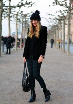 Best Outfit Ideas For Fall And Winter  20 Outfits That Prove Pom Pom Hats are All the Rage