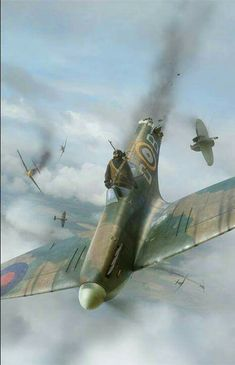 Douglas Bader when he collided with an enemy aircraft.