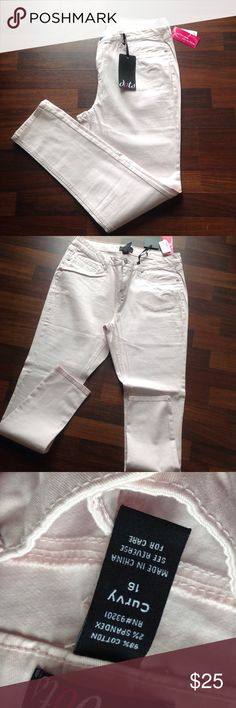 Jeans Light pink jeans NWT Dots Jeans