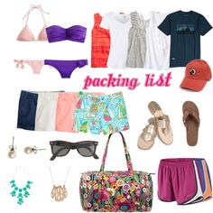 packing list for camp