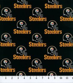 Pittsburgh Steelers-NFL Cotton Fabric at Joann.com