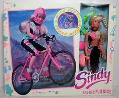 Hasbro 1990 Sindy and Her Fun Bike European MISP VHTF New | eBay