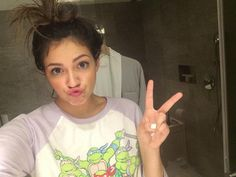 Bath time hairstyle haiiii -Beth