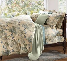Silky smooth Cuddledown Cotton Sateen Saki Bedding