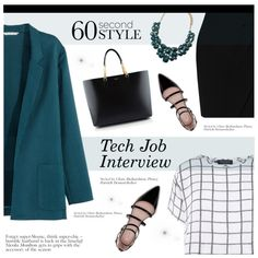 60-Second Style: Tech Job Interview by jecikilicica on Polyvore featuring polyvore, fashion, style, Myne, H&M, L.K.Bennett, Zara, Yves Saint Laurent, Forever 21 and 60secondstyle