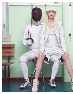 visual optimism; fashion editorials, shows, campaigns & more!: miss sporty: abby dixon by stefano moro van wyk for madame germany march 2014