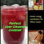 Perfect Liver Cleanse Cocktail with an Energy Boos. - Perfect Liver Cleanse Cocktail with an Energy Booster cranberry juice, 25 drops - Healthy Detox, Healthy Drinks, Healthy Life, Healthy Water, Vegan Detox, Healthy Smoothies, Healthy Lunches, Smoothie Detox, Cleanse Detox