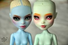 Abbey & Frankie   OOAK Monster High Abbey Bominable & Franki…   Flickr - Photo Sharing!