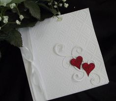 ~ Two of Hearts ~ by Zina Borrelli - Cards and Paper Crafts at Splitcoaststampers (love, love this! slm)